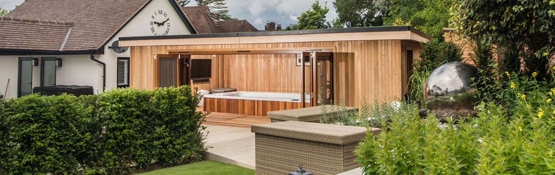 Luxury garden room designs available from Crown Pavilions