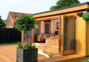 What can a garden room be used for?